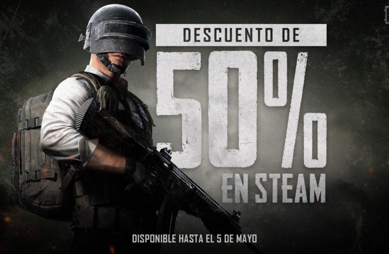 PUBG tendrá un 50% de descuento en Steam por tiempo limitado