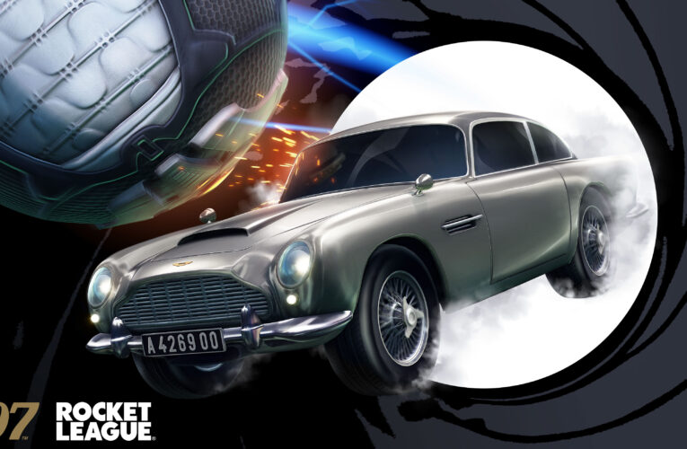 Psyonix anuncia la llegada de James Bond a 'Rocket League' el próximo 29 de julio