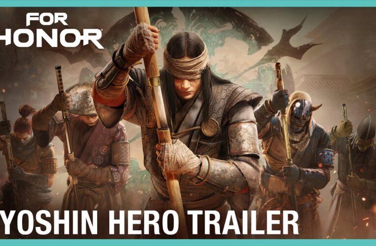 El nuevo héroe Kyoshin se une al campo de Batalla de 'For Honor' el 22 de julio