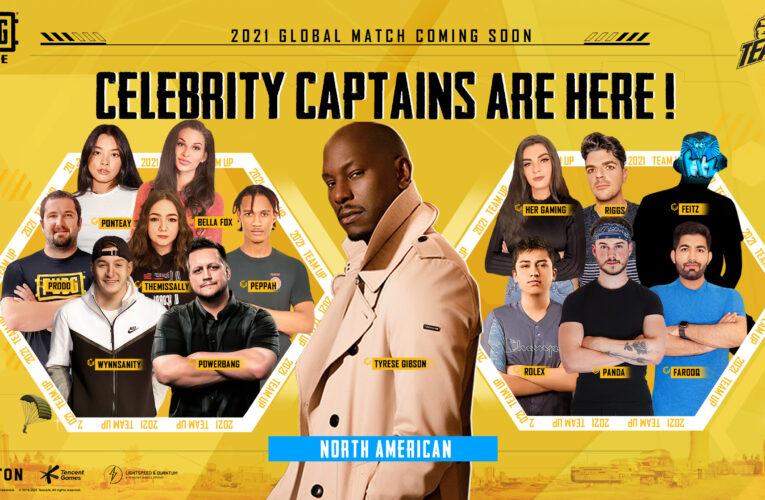 Prepárate para la intensa acción de PUBG MOBILE: el actor de cine de acción Tyrese Gibson se une al Team Up Challenge 2021