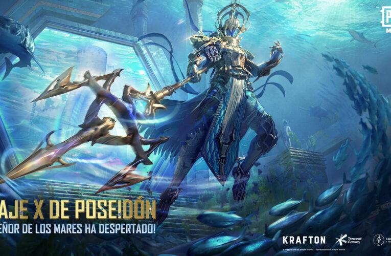 PUBG MOBILE lanza el nuevo Traje X de Poseidón y un nuevo tema musical de la mano Adam Gontier de la banda de rock Saint Asonia