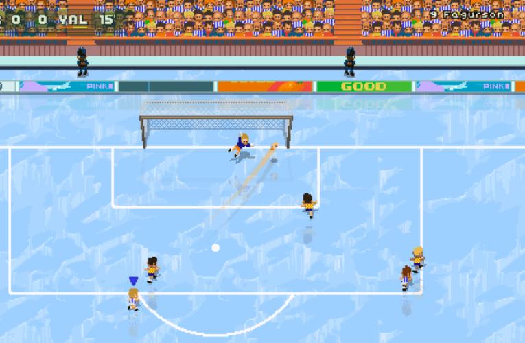 'Super Arcade Football' llega hoy al campo de Nintendo Switch