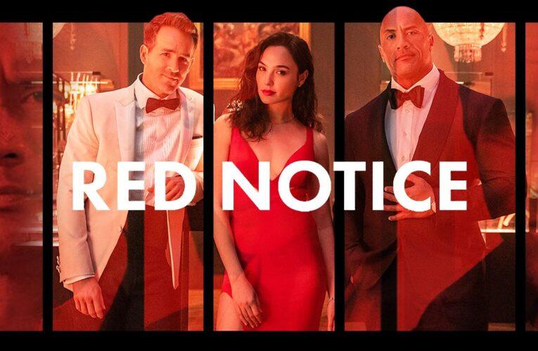 'Red Notice' publica un clip exclusivo en el evento Netflix TUDUM