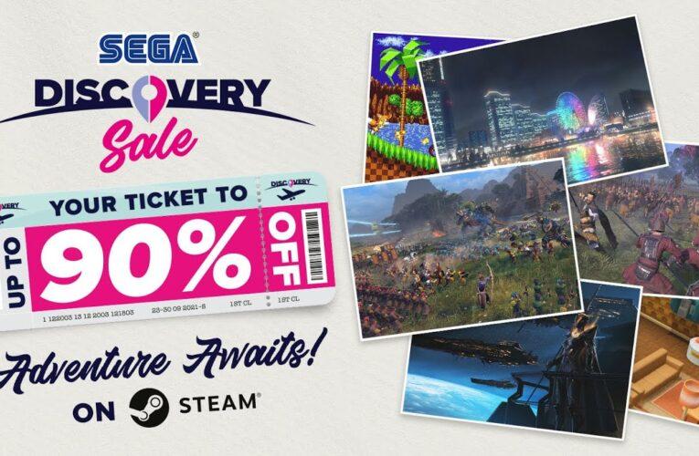 La promoción SEGA Discovery Sale ya está disponible