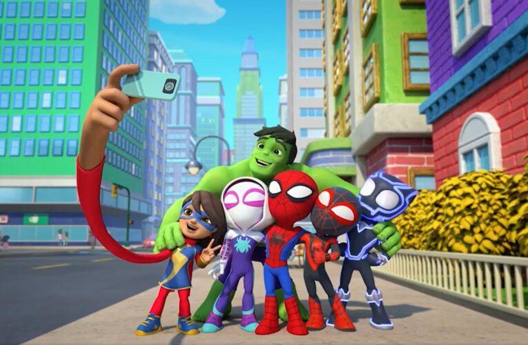 Disney+ estrena la serie 'Spidey y sus sorprendentes amigos'