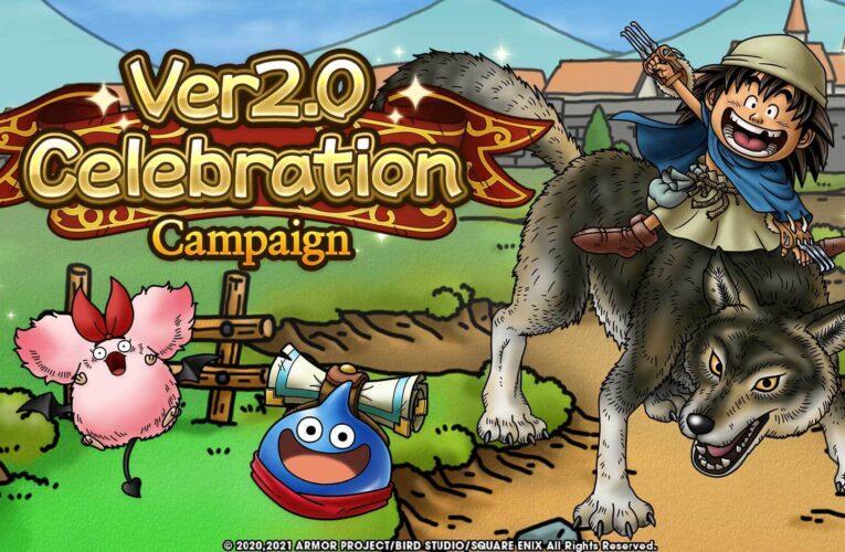 Dragon Quest Tact anuncia la campaña de celebración de la versión 2.0