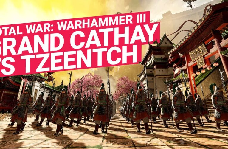 'Total War: WARHAMMER III' revela jugabilidad de la Gran Catai